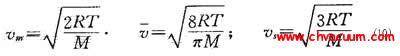 麦克斯韦速度分布定律公式
