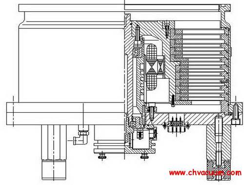 F400/4000型大抽速分子泵的研制