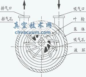 水環真空泵的工作原理