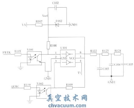 模拟量反馈信号输出电路