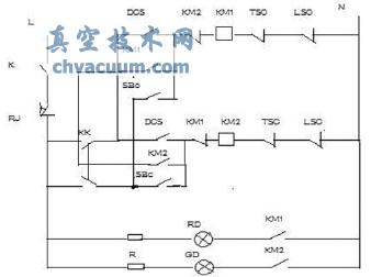 1 扬州电动执行器常用电路图   l为220v火线,k为控制开关,rj为热偶,kk