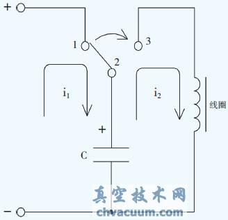 断电工作型电磁线圈电路基本原理图