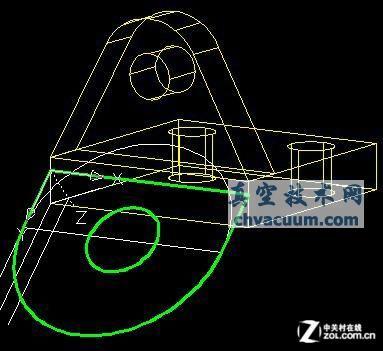 根据二维CAD图进行三维建模的方法
