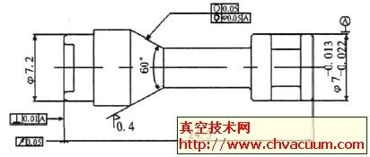 电磁阀的阀杆改型设计图