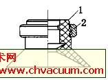 平直型真空吸盘结构示意图
