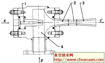 大气喷射器的结构图