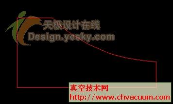 使用AutoCAD准确再现不规则材料圆弧边