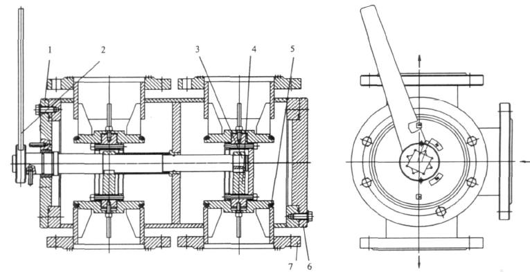 六通换向阀的工作原理和结构特点