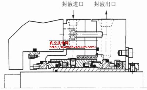 P2202泵机械密封结构示意