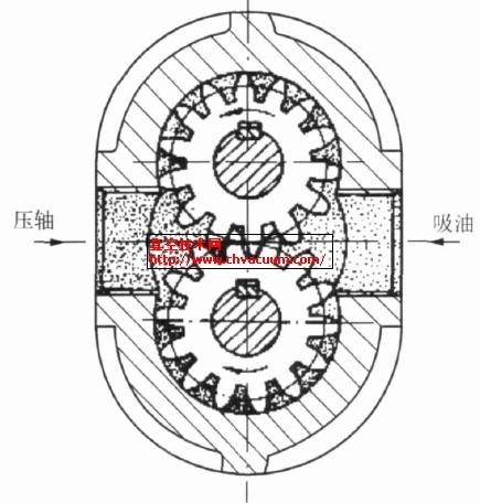 齿轮泵传动原理