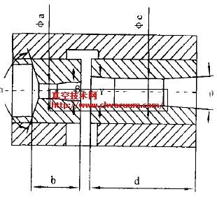 真空发生器结构简图