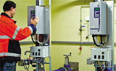 瑞典Falkenberg市采用Emotron的产品作为电机运行的标准变频器