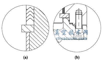 双向对开卡环限位结构