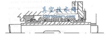 自吸离心旋涡泵配用双端面机械密封