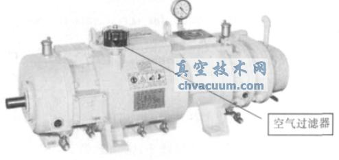 tsp系列螺杆真空泵的结构与性能