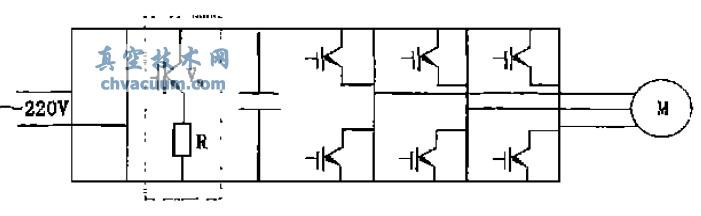 研究了涡轮分子泵电源制动单元的设计、制动功率和制动电阻的计算方法。为涡轮分子泵选用理想制动电阻提供依据。根据此设计和计算方法为我公司生产的FD系列涡轮分子泵电源选用了最佳的制动电阻,使涡轮分子泵的停车减速时间大为缩短,该泵的性能和效率显著提高。   涡轮分子泵是一种靠涡轮高速运转来获得真空的产品。驱动涡轮旋转的一般为高速异步电动机,其转速高达15000~90000 r/min。由于涡轮的转动惯量大,受涡轮叶片的强度及刚度限制,涡轮分子泵必须从低速到高速缓慢启动。同样从高速降速停机也必须缓慢降速。涡轮分