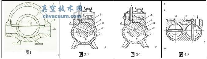 整体滑片旋转泵结构与旋片真空泵结构