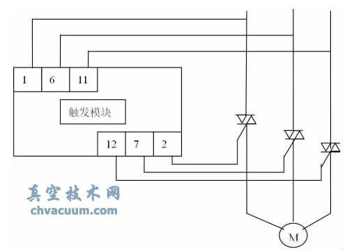节电启动器控制柜部分电原理