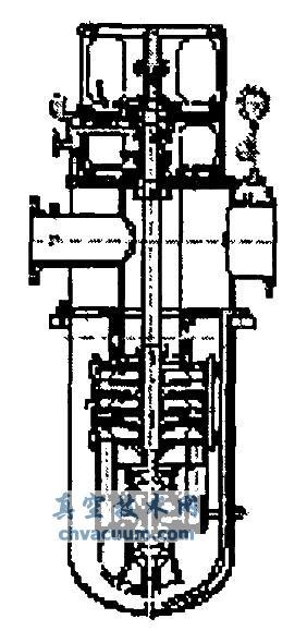 300ldtn-200型立式多级筒袋式冷凝泵的研制图片