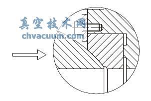 高温单向压圈固定式密封阀座