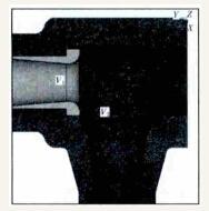 阀壳和阀座的几何模型