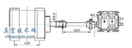 传动齿轮箱连接轴
