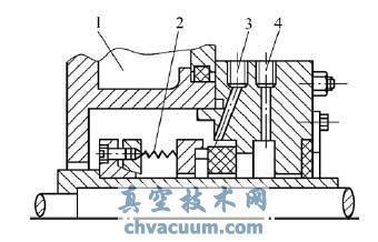 传统单层冷却系统示意