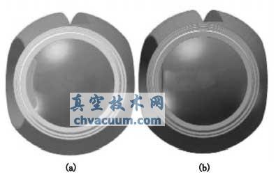 缺口球体球阀与普通球体球阀流通面积比较