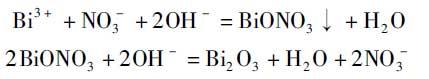 有机溶剂对氧化铋纳米结构形貌和场发射性能的影响