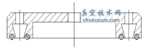 平面双吸口结构