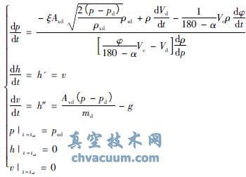 转子泵出口球阀动态特性计算与分析