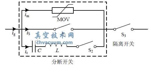 分断时,当传感器检测到故障电流经控制器逻辑判断发出分闸指令,立即触